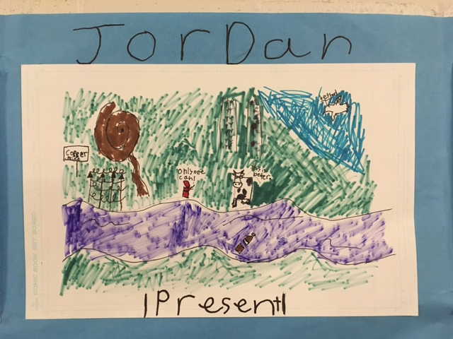 Comic Strip: Jordan River present