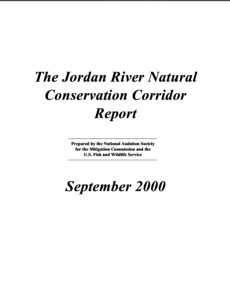JR Natural Conservation Corridor Report 2000