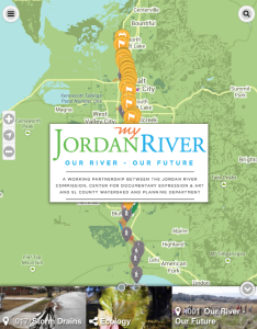 Jordan River Trail Map - Jordan map download