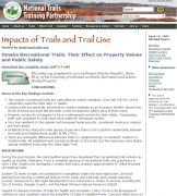 Trail Use impacts cover